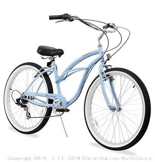first sports beach cruiser 26in Urban 3 - SP lady blue (Online $259)