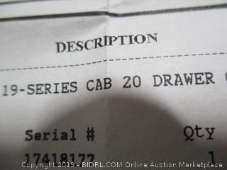 19series Cab  20 drawer
