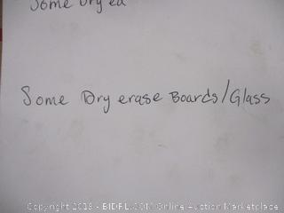Glass Dry-Erase Board (Please Preview)