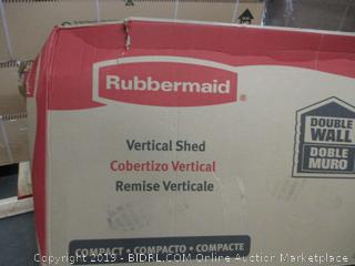 Rubbermaid Vertical Shed (Please Preview)