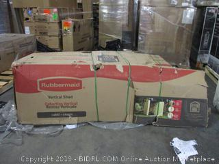 Rubbermaid Vertical Shed (Box Damaged)