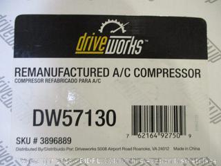 Remanufactured A/C Compressor