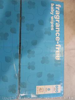 Baby Wipes Fragrance-Free (Box Damaged)