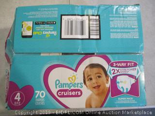Pampers Cruisers Size 4 (Box Damaged)