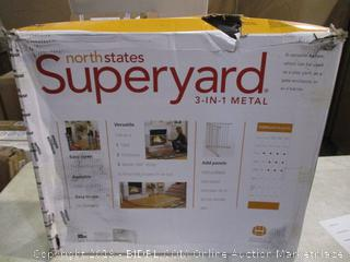 Superyard 3-in-1 Metal (Box Damage)