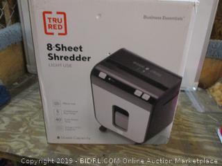8 Sheet Shredder