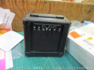 Guitar Amplifier does not power on