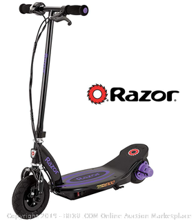 Razor Powercore E100 Electric scooter black and blue