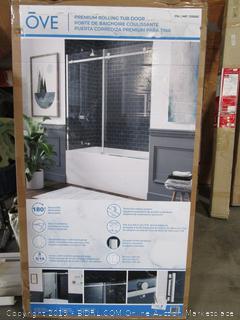 OVE Premium Rolling Tub Door