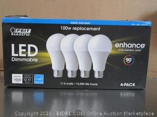 Feit LED Dimmable 17.5W 100W Replacement Light Bulbs
