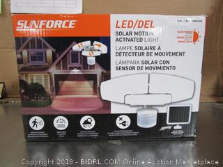 Sunforce Solar Motion Activated LED Security Light