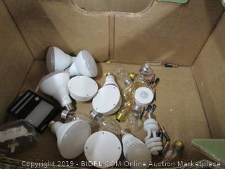 Misc. Box Lot Light Bulbs