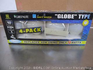 Globe Type Light Bulbs