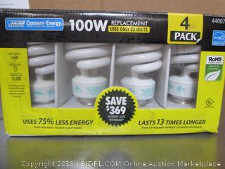 Conserv-Energy Light Bulbs