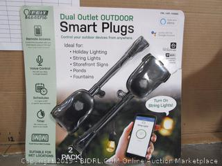 Feit Dual Outlet Outdoor Smart Plugs