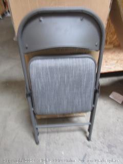 Maxchief Upholstered Metal Folding Chair