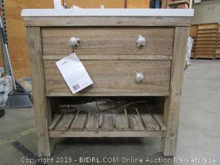 Northridge Home Bathroom Vanity Cabinet