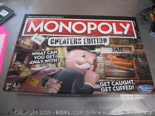 Monopoly Cheaters Edition Game