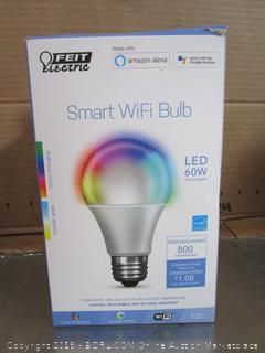 Feit LED Wifi Smart Bulb Color-Changing w/Smartphone App