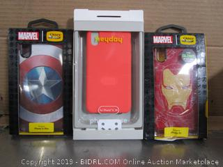 iPhone Cases: Otterbox Marvel Captain America Iron Man, Heyday