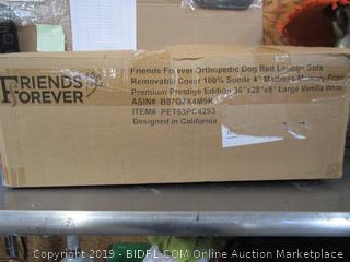 Friends Forever Orthopedic Dog Bed