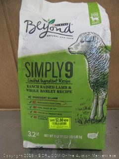 Purina Beyond Simply 9 Lamb Dog Food