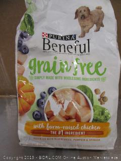 Purina Beneful Grain Free Chicken 3# Dog Food