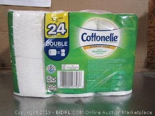 Cottonelle Gentle Care Aloe 12 Double-Rolls Toilet Paper