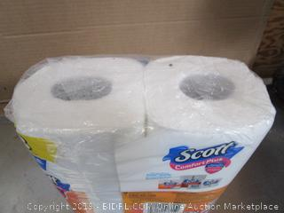 Scott Comfort Plus Unscented Bathroom Tissue