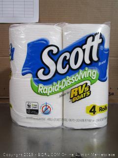 Scott Rapid Dissolving RV/Boat Toilet Paper