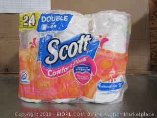 Scott Comfort Plus Unscented Bathroom Tissue
