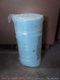 Ruuf 2 inch gel memory foam mattress topper queen