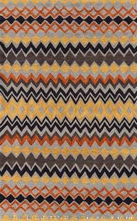 Momeni Rugs Rio Collection Hand Tufted Contemporary Area Rug, 8' x 10', Multicolor (online $161)