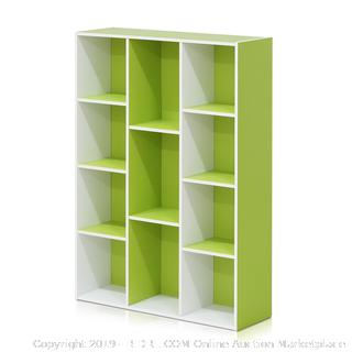 11 Cube reversible open shelf bookcase