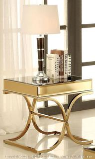 Sundance Brass End Table (online $222) table only