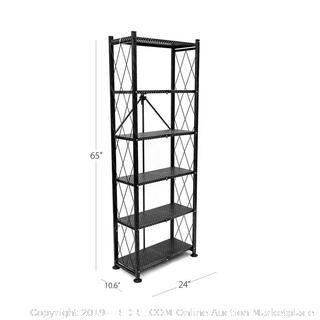 Origami 6 Shelf Open Styled Organizational bookshelf (online $97)