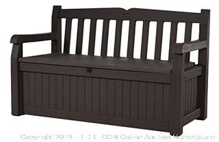 Keter Eden storage bench Brown(Factory Sealed) COME PREVIEW!!!! (online $101)
