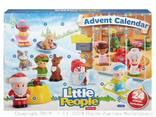 Fisher-Price Little People Advent Calendar (Online $34)