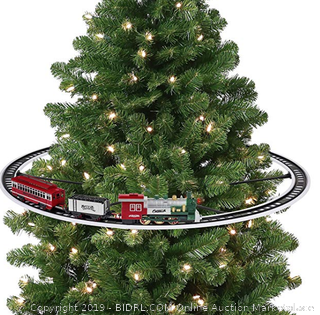 Mr. Christmas 22849 Oversized Animated Train Around The Tree Holiday Decoration, one size (Online $80)