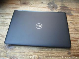Dell Windows 7 Pro laptop computer - powers on