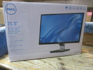 "Dell 21.5"" monitor with LED - powers on"
