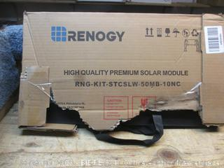 Renogy high quality premium solar module - damaged