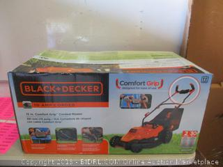 Black+Decker 10 am comfort grip corded mower