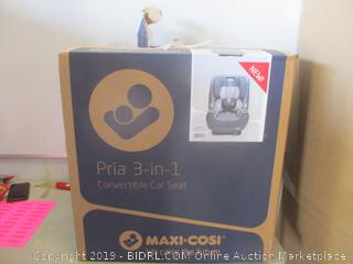 Pria 3 in 1 convertible car seat