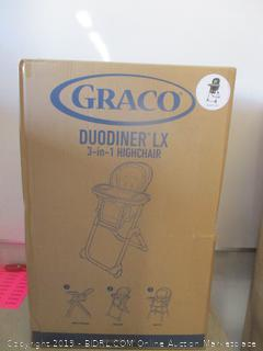 graco duodiner LX 3 in 1 highchair