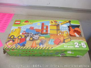 LEGO Duplo Big Construction Site toy set