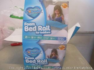 Bumper foam bed rail