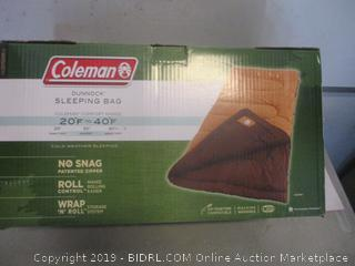 Coleman Dunnock sleeping bag