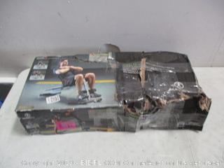 Marcy Utility Bench damaged box
