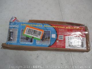 Universal Mounting Bracket Possibly Incomlete damaged box